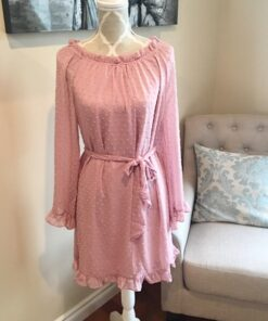 Poly Dress shown in pink from Bright-Eyed & Beautiful Fashion Boutique