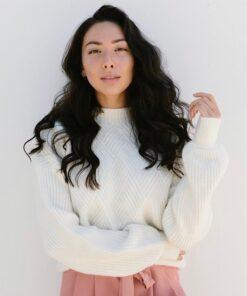 Fearless cream sweater